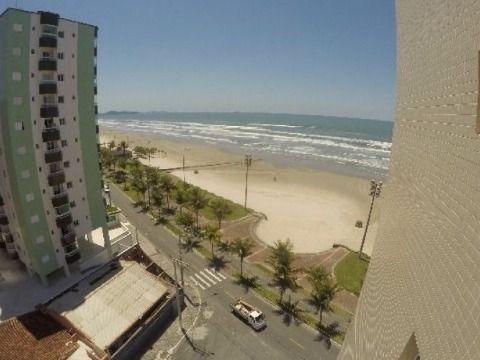 Apartamento de frente pro mar - Maracanã - Praia Grande/SP