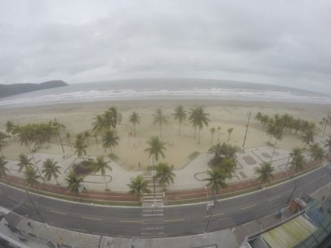 Apartamento com 3 Dormitórios Frente Mar na Praia Grande - Bairro Canto Forte