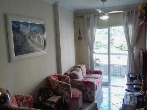 Apartamento com um dormitório no Canto do Forte em Praia Grande