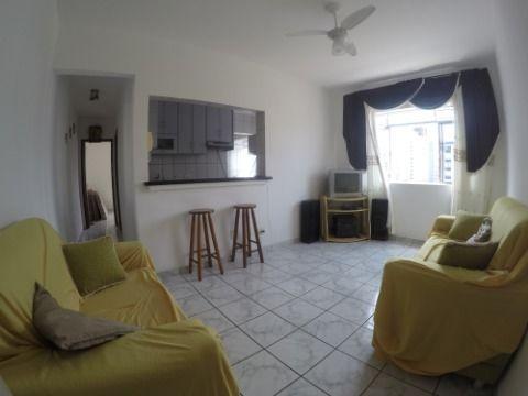 Apartamento de 1 Dormitório à Venda em Praia Grande - Bairro V. Tupi