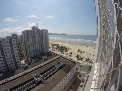 Apartamento de 1 Dormitório com Vista na Praia Grande - Bairro Guilhermina