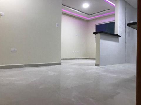 Casa em condomínio de 2 dormitórios com cozinha 2 ambientes em alto padrão