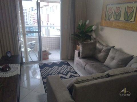 Excelente apartamento c/ 01 dorm à 380m² da Praia na Tupi.