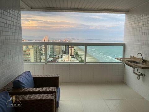 Excelente apartamento frente praia c/ 3 suítes no Caiçara