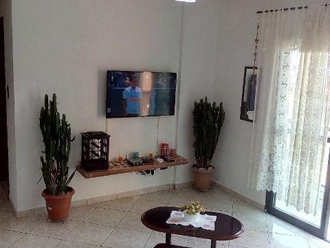 Excelente apartamento c/1 dorm à- 450m da praia na Vila Assunção