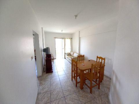 Excelente apartamento c/ 02 dorm frente praia na Mirim