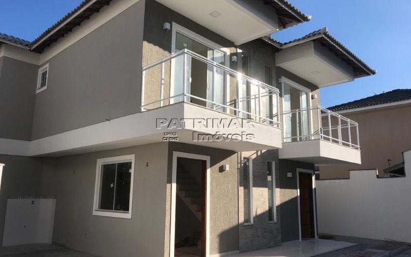 Casas Duplex em condomínio entre o Barroco e a praia de Itaipuaçu. R$265.000,00