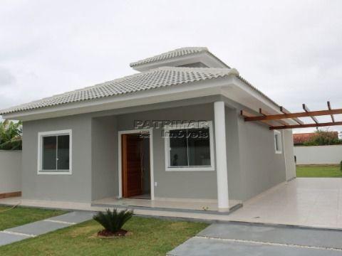 Linda casa com 3 quartos no Jardim Atlantico