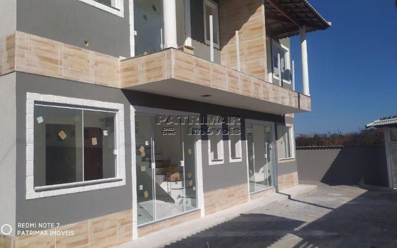ótima casa duplex composta com 2 quartos