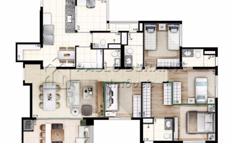 9 Unidade 129 m² (1)