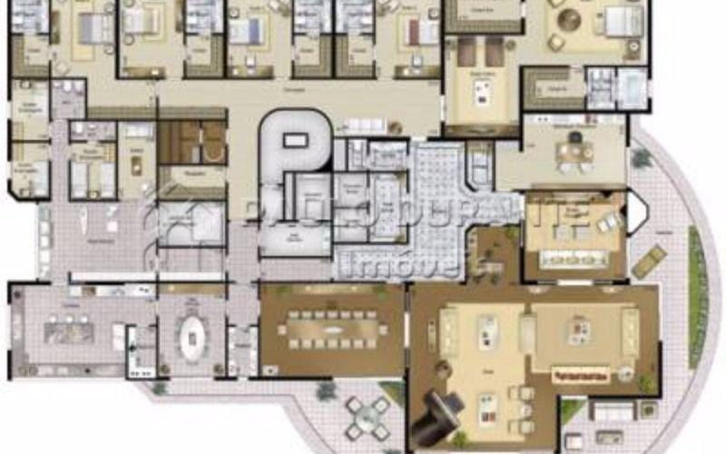 planta  apartamentos-planta-vol-d-oiseau