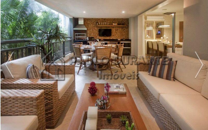 Condominio Evolve Morumbi - Apartamento com 122 metros 4 dormitorios sendo 2 suites - 2 vagas