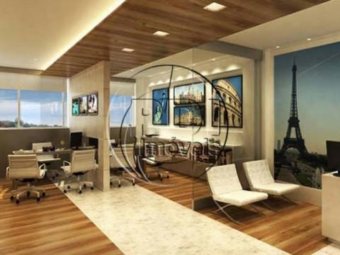 Sala comercial 44,10m² no Morumbi Bonnaire Business