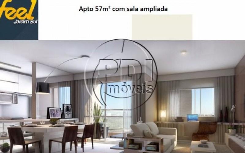 Feel Jardim Sul Apartamento 57 metros - 2 dormitorios sendo 1 suite - 1 vaga
