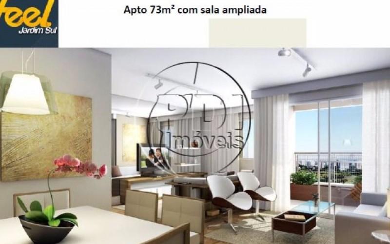 Apartamento no Jardim Sul com 73 metros 3 dormitorios sendo 1 suite e 1 vaga