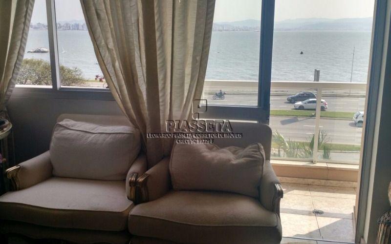 Apartamento com vista mar 4 dorm sendo 2 suítes av beira mar norte Florianópolis