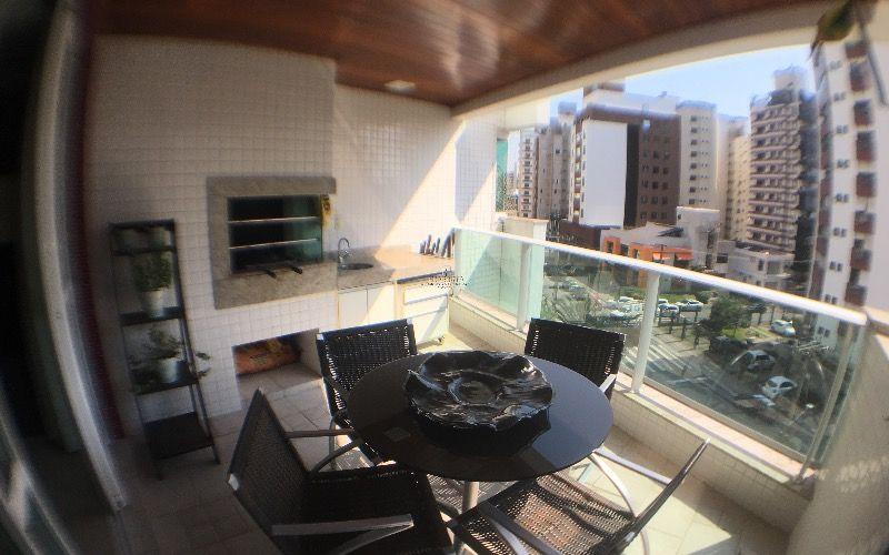 Apartamento semi mobiliado 3 dormitórios lazer completo Linda Koerich ao lado do beira mar shopping