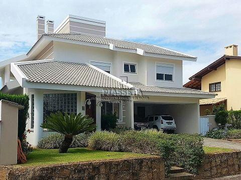 Casa com vista para o mar em condomínio fechado no Cacupé Florianópolis