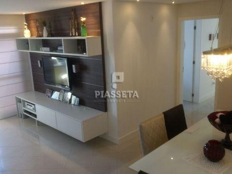 Apartamento reformado semi-mobiliado alto padrão 3 dormitórios lazer completo no estreito