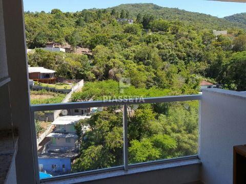 """Apartamento a venda em """"Porteira Fechada"""" fica tudo dentro do imóvel, 2 dormitórios e 2 vagas Itacorubi"""