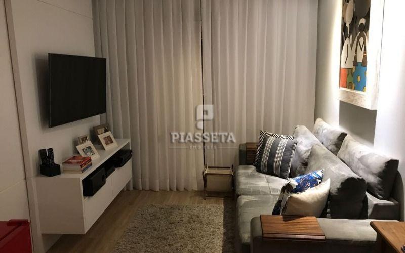 Apartamento alto padrão semi mobiliado 3 dormitórios 2 vagas no Plaza Di Roma Itacorubi