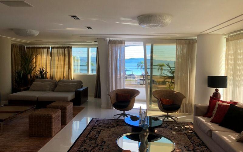 Apartamento no Residencial João Eduardo Moritz na av Beira Mar em Florianópolis