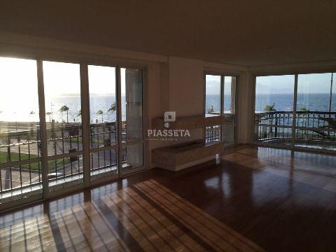 Apartamento 3 suítes com vista totalmente livre no residencial La Perle na Av Beira Mar Norte em Florianópolis