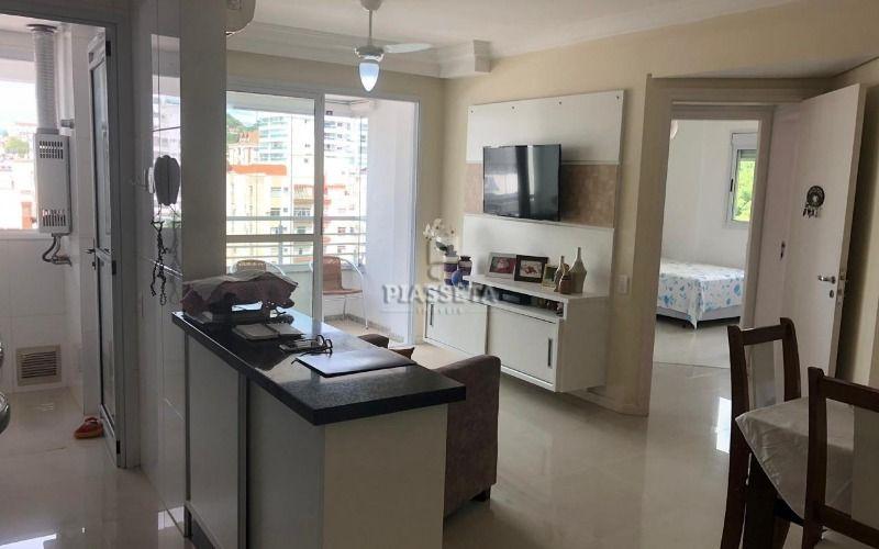 Apartamento semi mobiliado 2D 1 vaga próximo ao parque de Coqueiros