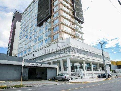 Andar inteiro com 9 salas laje corporativa 9 vagas Itaguaçu Trade Center ao lado do shopping Itaguaçu no acesso à ilha