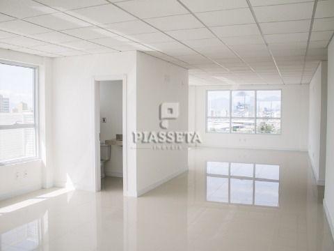 SALA NOVA 39,35M² PRIVATIVOS 1 BWC 1 VAGA NO ITAGUACU TRADE CENTER AO LADO DO SHOPPING ITAGUAÇU