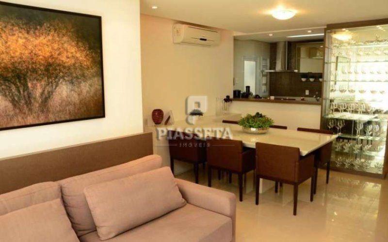 Belissimo Apartamento Semi Mobiliado 3 quartos 2 vagas Green Village Residence Itacorubi