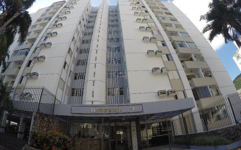 Apartamento 3 quartos 1 vaga Residencial Cote D' Azur Centro de Florianópolis.