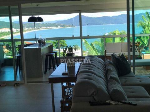 Apartamento novo luxuoso 3 suítes 3 vagas com vista para o mar em Canajurê