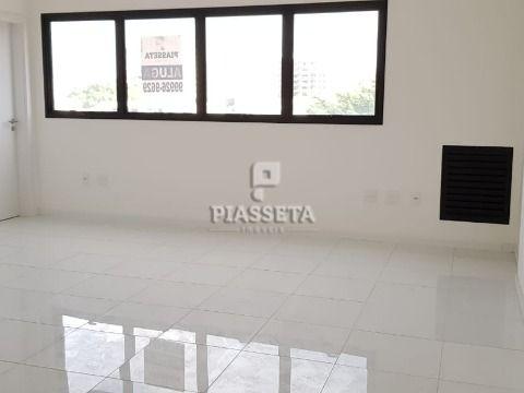 Sala comercial nova alto padrão 33,38m² privativo 1 vaga garagem coberta Coral Corporate área nobre de Coqueiros