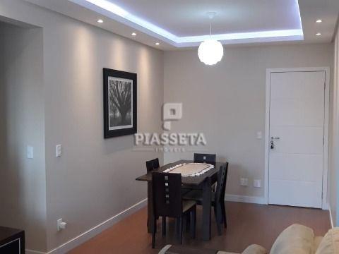 Apartamento novo semi mobiliado 3 dormitórios ( 1 suíte ) sacada churrasqueira 2 vagas sanca em gesso em Areias
