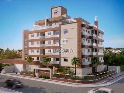 Apartamento novo alto padrão acabamento 1 dormitório sacada 1 vaga na Trindade