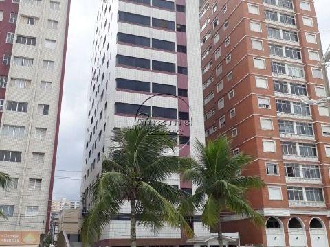 Apartamento 2 dormitórios p/ venda e alugar na Guilhermina Prédio à Beira Mar