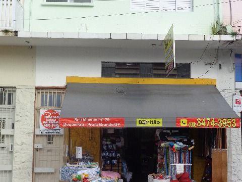 Casa Alta 1 dormitório p/ alugar no Centro do Boqueirão