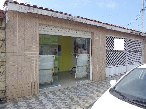 Casa Isolada 3 dormitórios + Salão Comercial p/ Venda no Boqueirão