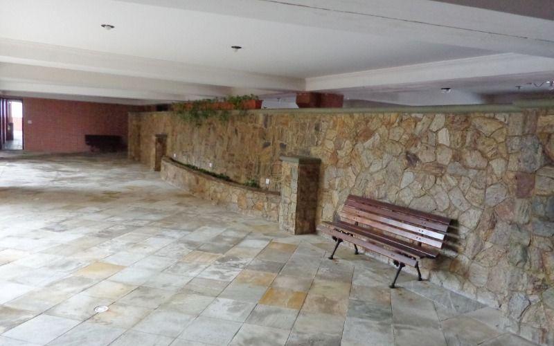 Área externa do prédio