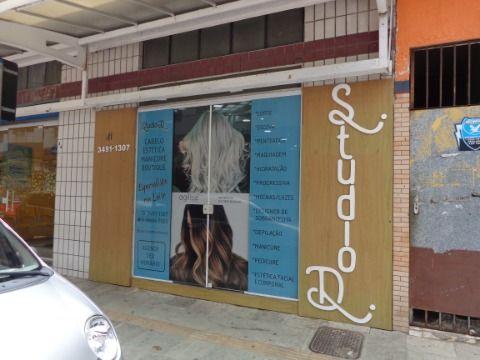 Loja Comercial Salão de Cabelereiro + Loja de Roupas p/ Venda no Centro do Boqueirão