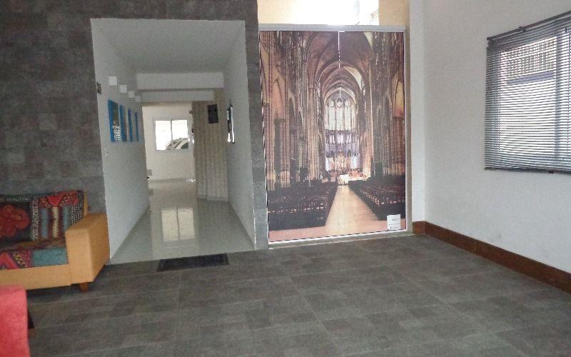 Hall de entrada do prédio