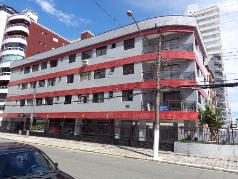 Apartamento 1 dormitório p/ venda e locação definitiva na Guilhermina em Praia Grande