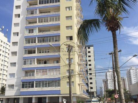 Apartamento 3 dormitórios + Dep. Empregada p/ Venda na Ocian Prédio à Beira Mar
