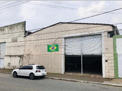 Galpão c/ 260 m2 p/ venda e alugar na V. Ocian