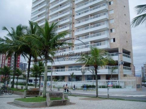 Apartamento 2 dormitórios p/ venda na Guilhermina - Prédio à Beira Mar