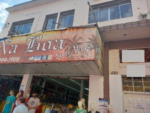 Sala Comercial no Centro Comercial da V. Ocian em Praia Grande