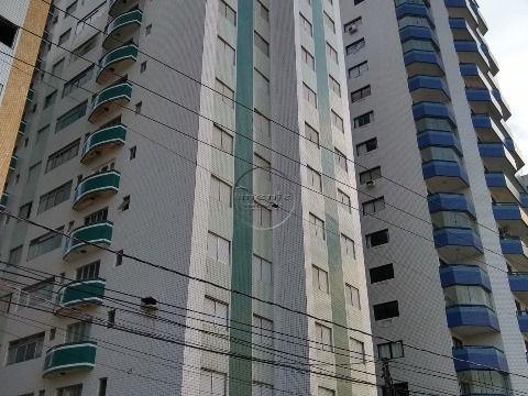 Apartamento Reformado 1 dormitório p/ locação na Guilhermina - Prédio à Beira Mar