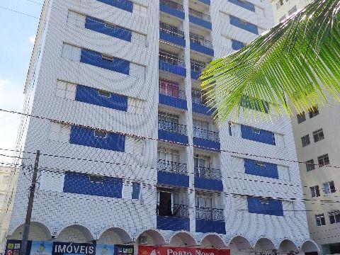 Apartamento 2 dormitórios p/ locação no Forte - Prédio à Beira Mar
