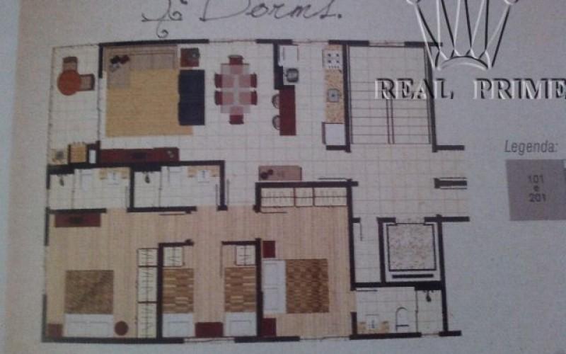 Apartamento Três Dormitórios Próximo ao Mar no Sul da Ilha - Foto 2